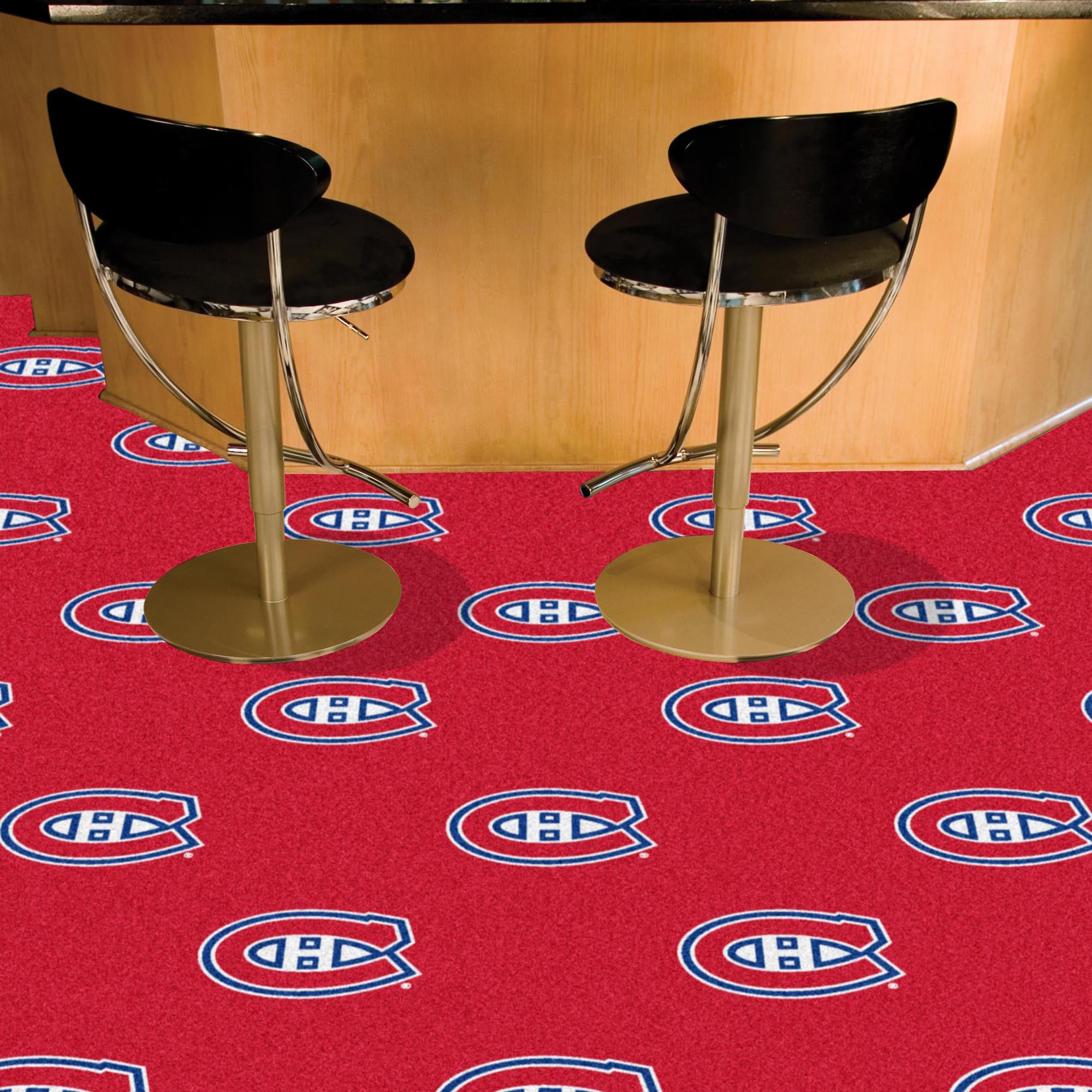 Montreal Canadiens Carpet Tiles 18x18 in.