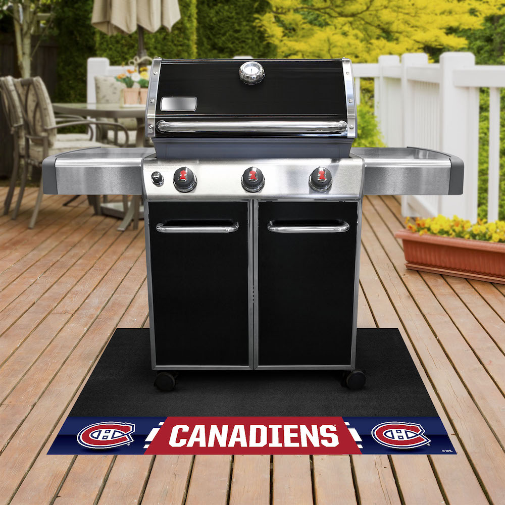 Montreal Canadiens NHL Grill Mat