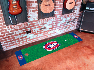 Montreal Canadiens Putting Green Mat 18 x 72
