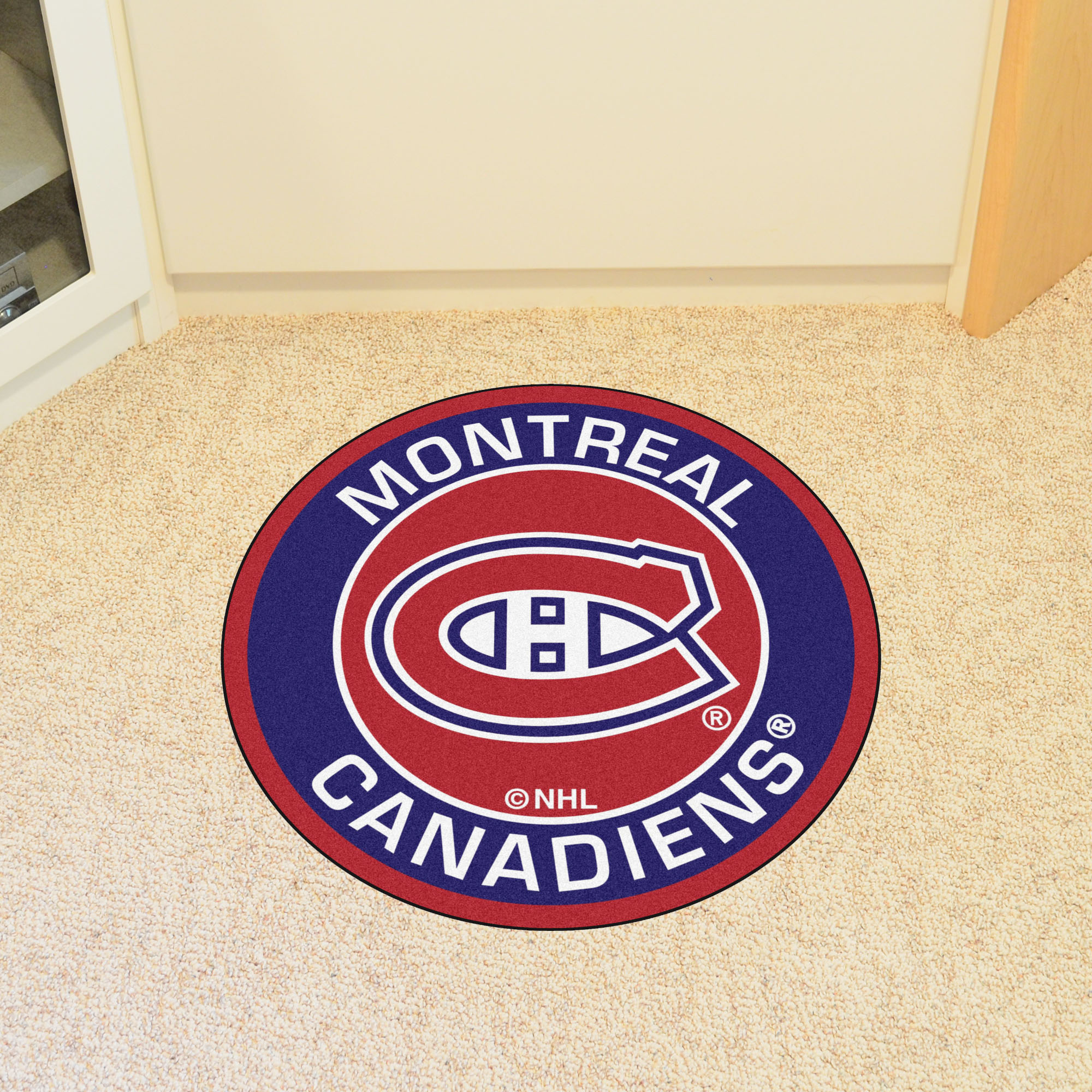 Montreal Canadiens Roundel Mat