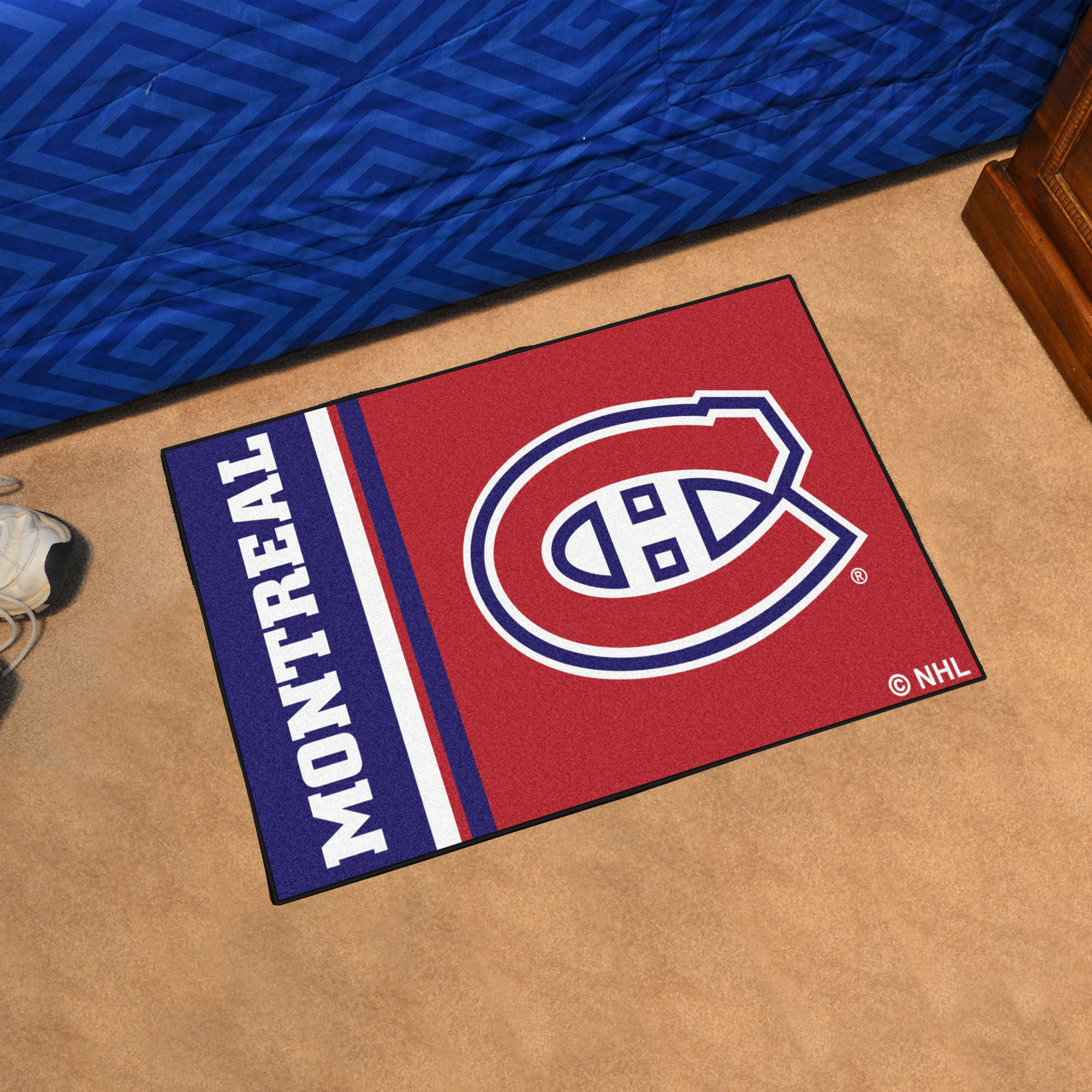 Montreal Canadiens 20 x 30 Uniform Inspired Starter Rug