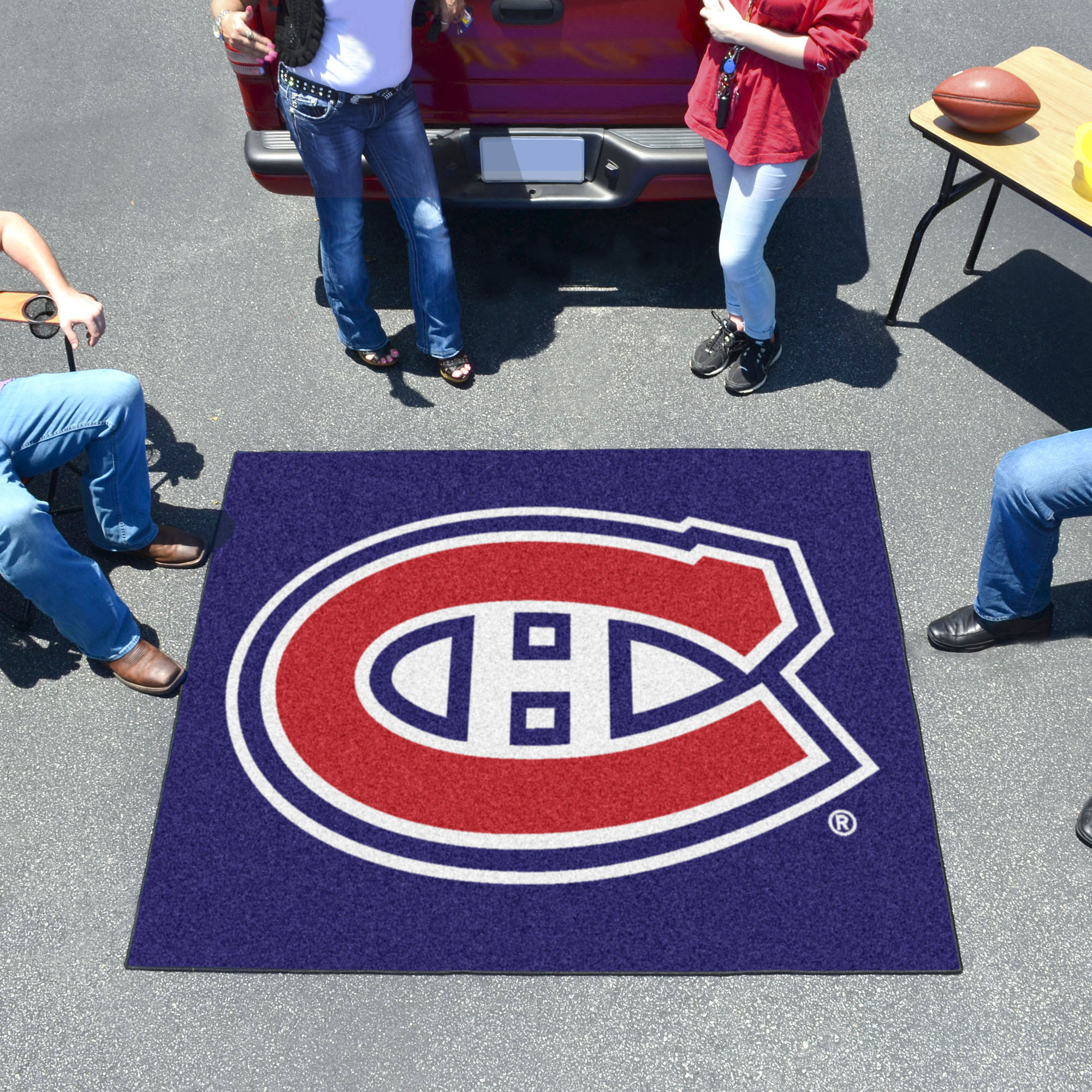 Montreal Canadiens TAILGATER 60 x 72 Rug