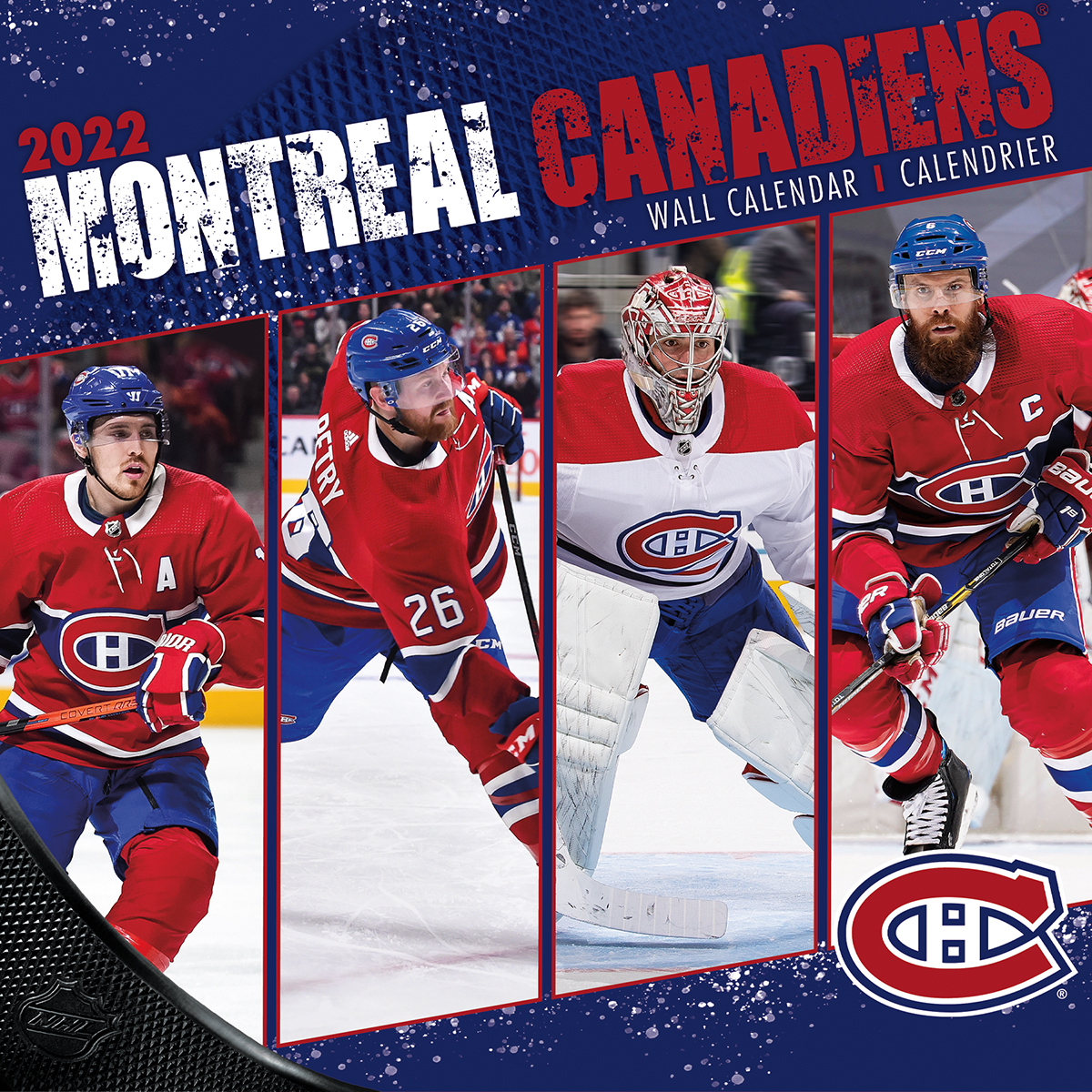 Montreal Canadiens 2021 NHL Wall Calendar