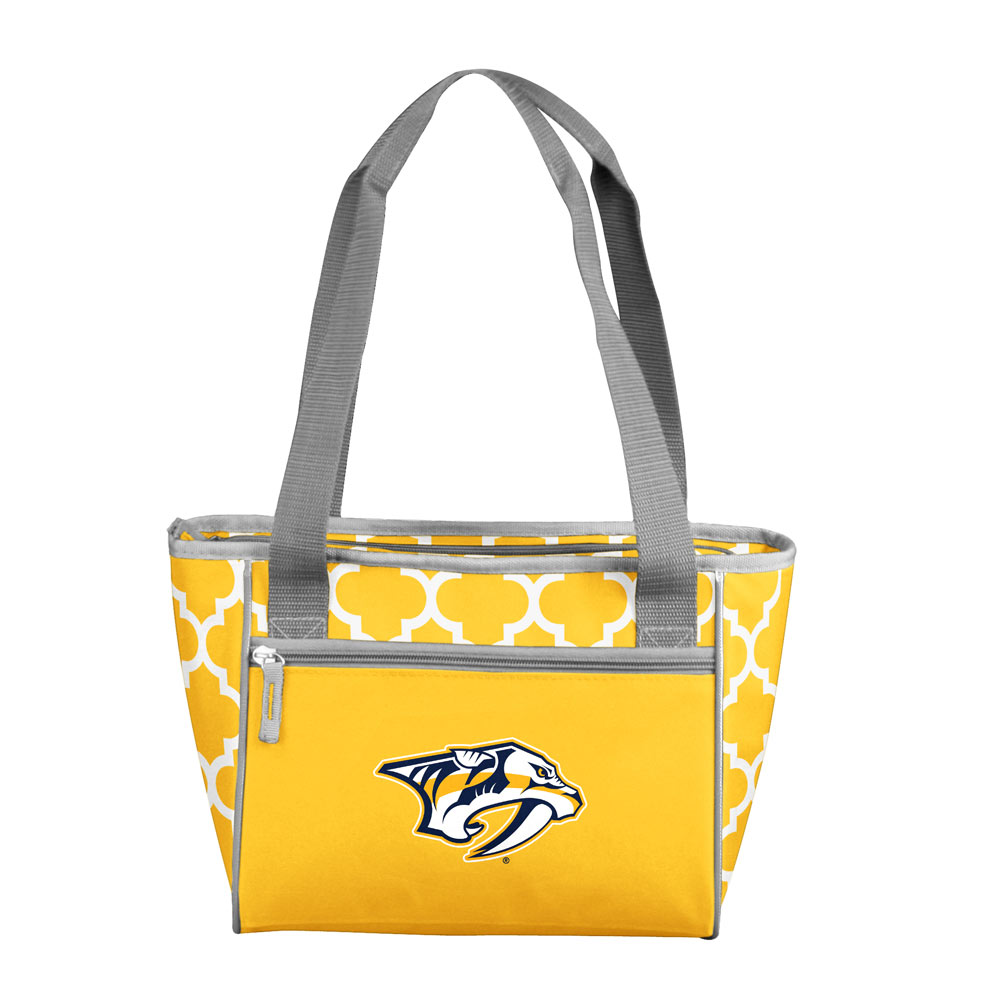 Nashville Predators Crosshatch 16 Can Cooler Tote
