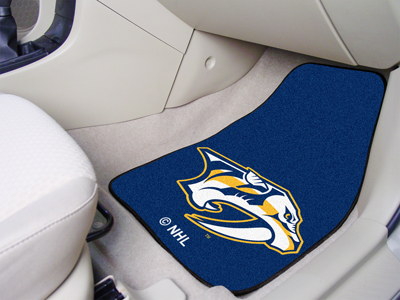 Nashville Predators Car Floor Mats 18 x 27 Carpeted-Pair