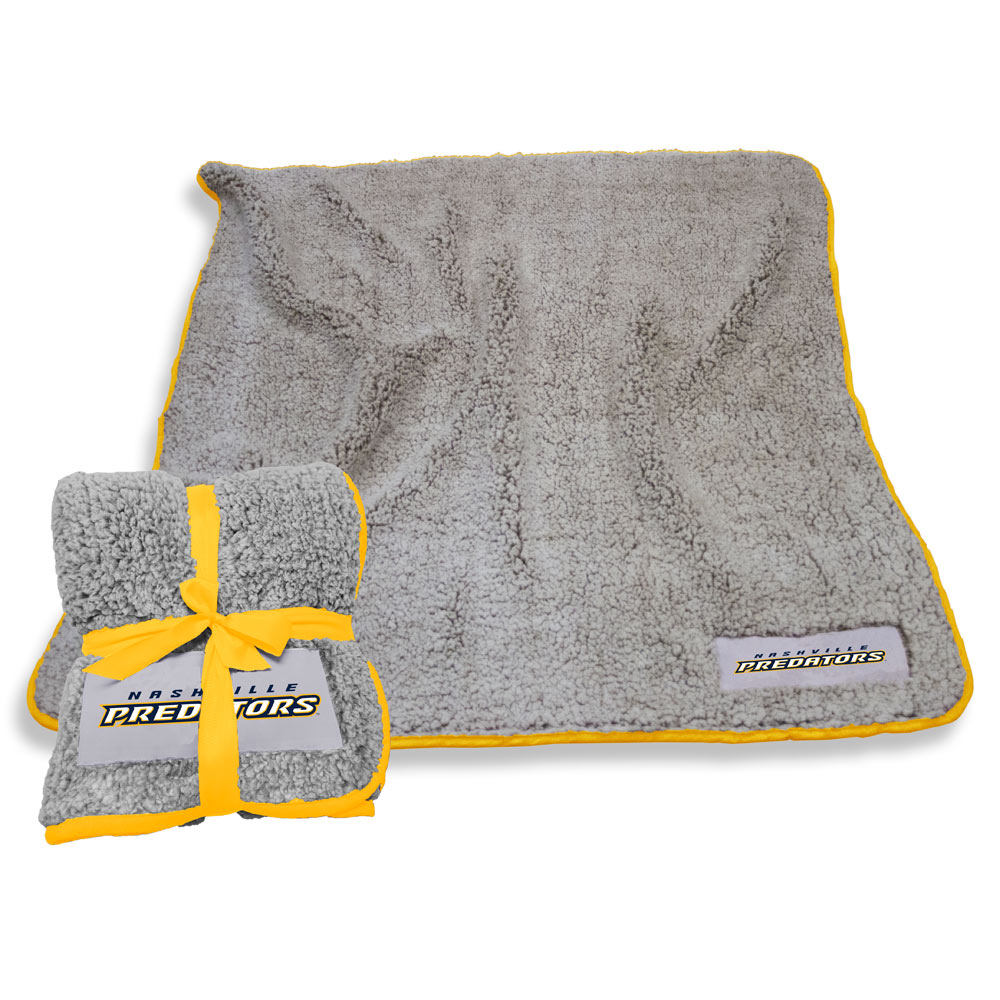 Nashville Predators Frosty Throw Blanket