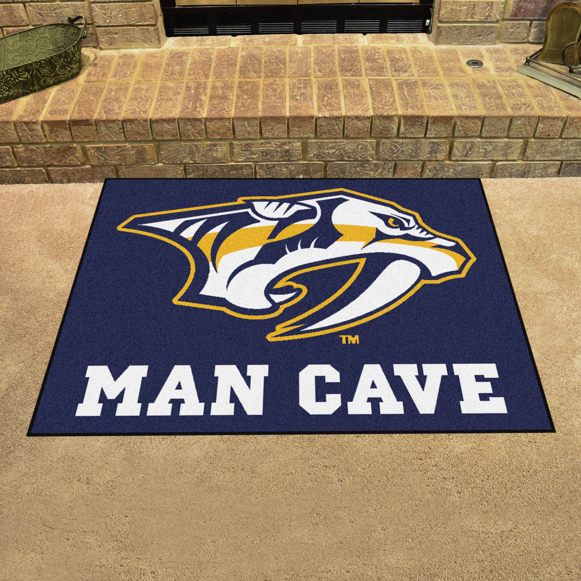 Nashville Predators ALL STAR 34 x 45 MAN CAVE Floor Mat