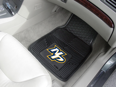 Nashville Predators Car Floor Mats 18 x 27 Heavy Duty Vinyl Pair