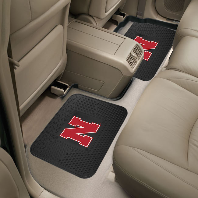Nebraska Cornhuskers Small Utility Mat (Set of 2)
