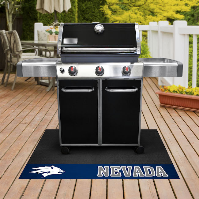 Nevada Wolfpack NCAA Grill Mat