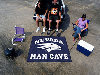 Nevada Wolfpack MAN CAVE TAILGATER 60 x 72 Rug