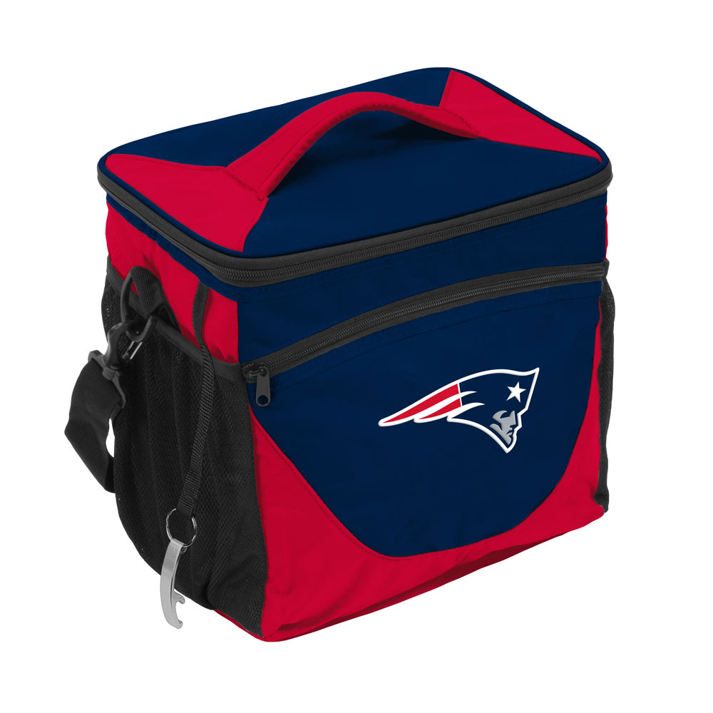 New England Patriots 24 Can Cooler