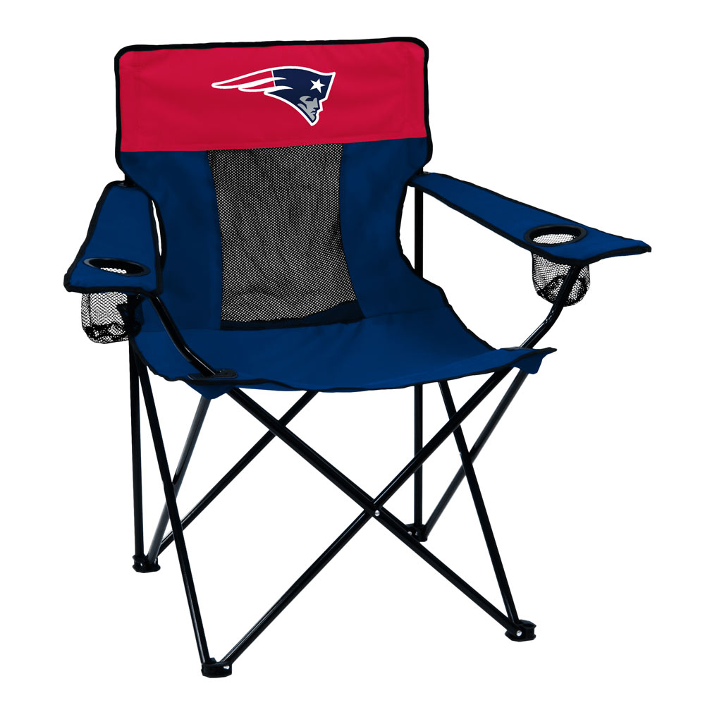 New England Patriots ELITE logo folding camp style chair