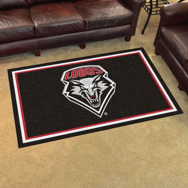 New Mexico Lobos 4x6 Area Rug