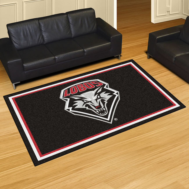 New Mexico Lobos 5x8 Area Rug