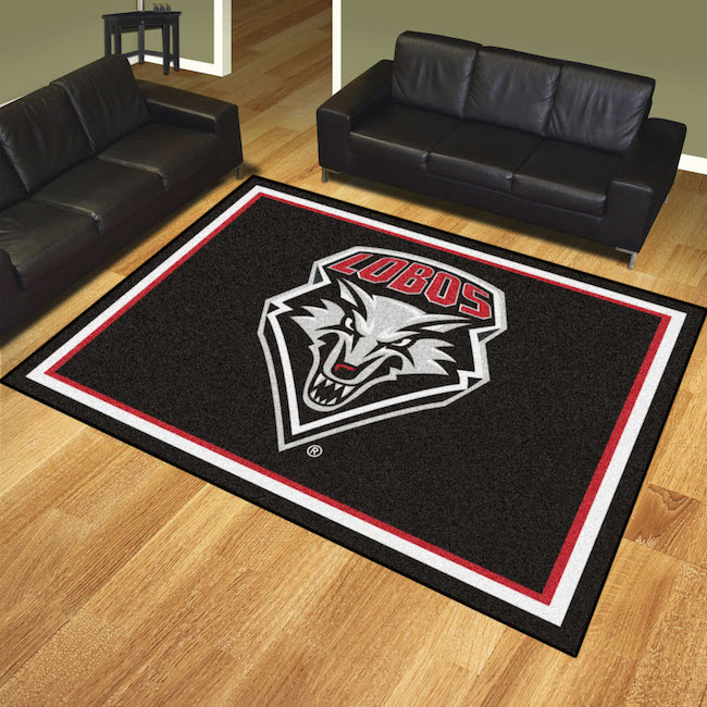 New Mexico Lobos Ultra Plush 8x10 Area Rug