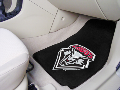 New Mexico Lobos Car Floor Mats 18 x 27 Carpeted-Pair