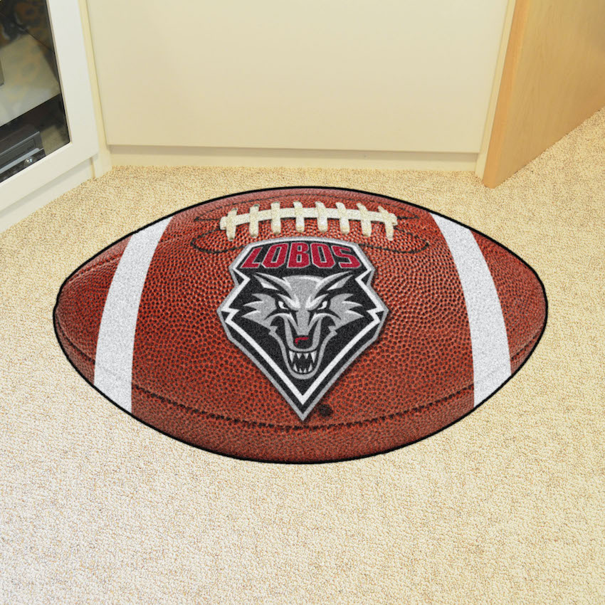 New Mexico Lobos 22 x 35 FOOTBALL Mat