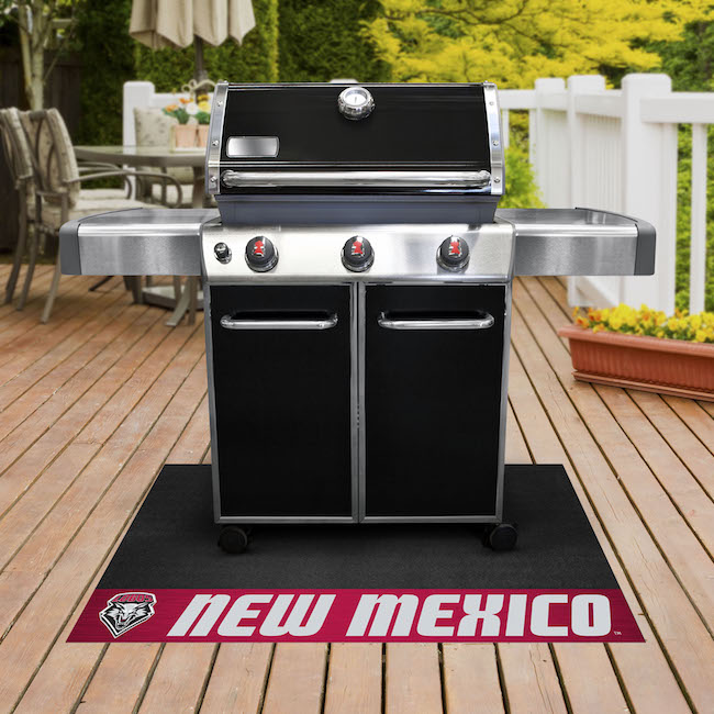New Mexico Lobos NCAA Grill Mat