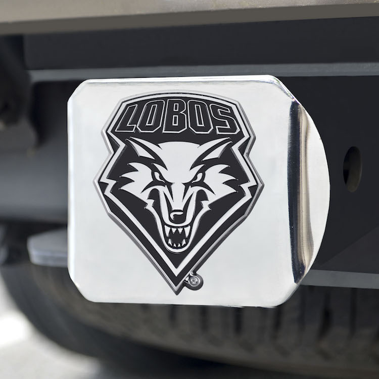New Mexico Lobos Trailer Hitch Cover