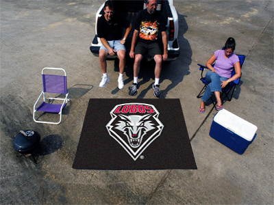 New Mexico Lobos TAILGATER 60 x 72 Rug