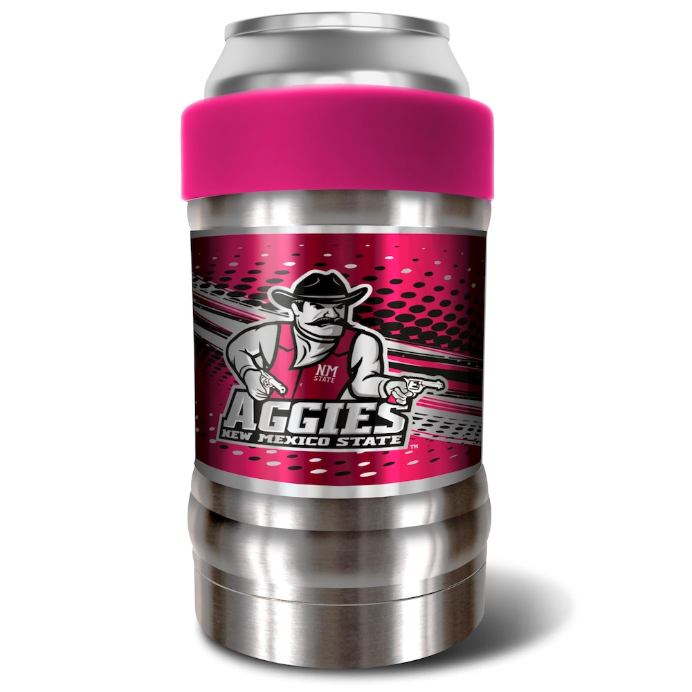 New Mexico State Aggies LOCKER NCAA Insulated Can and Bottle Holder - Pink