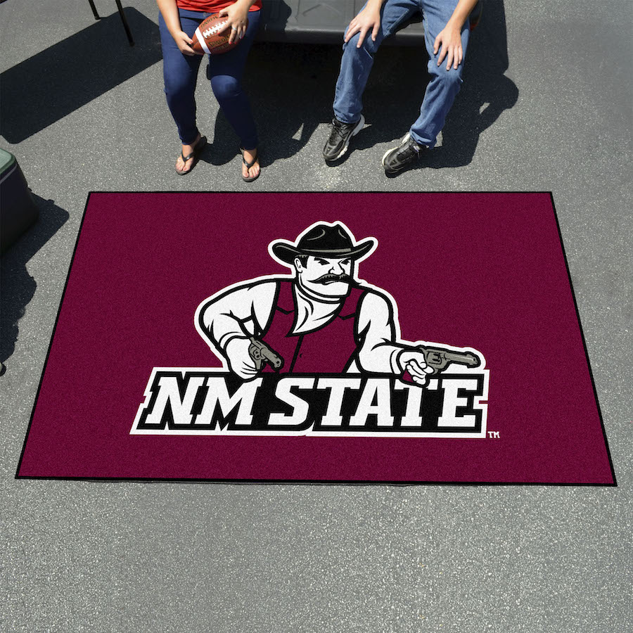 New Mexico State Aggies UTILI-MAT 60 x 96 Rug