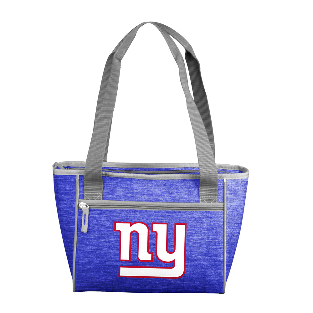 New York Giants Crosshatch 16 Can Cooler Tote