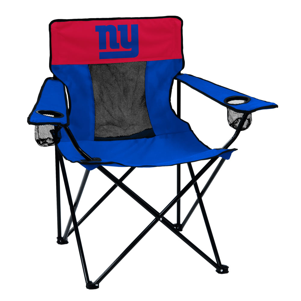 New York Giants ELITE logo folding camp style chair