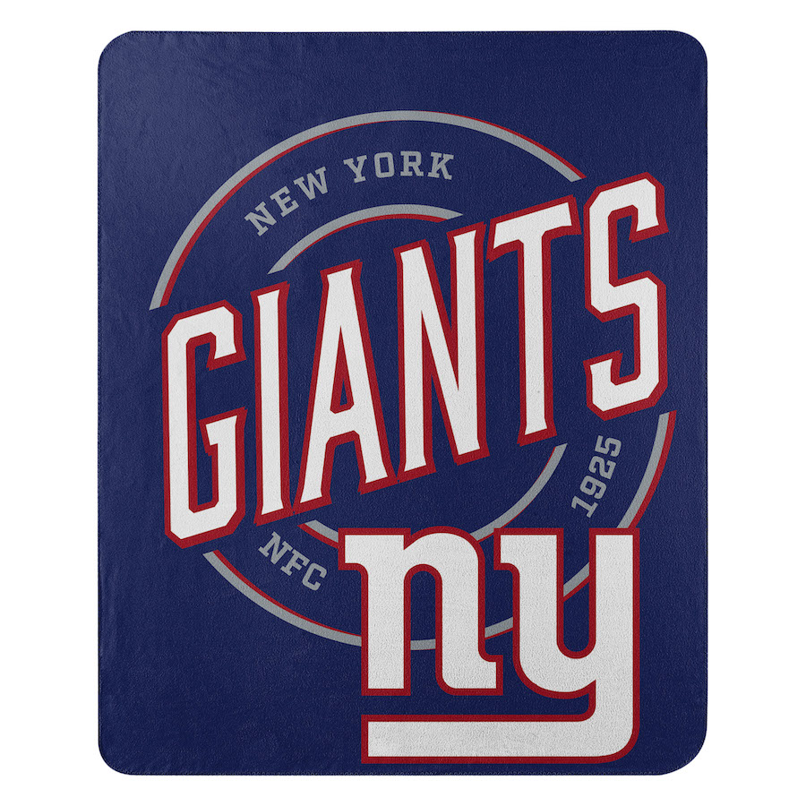New York Giants Fleece Throw Blanket 50 x 60