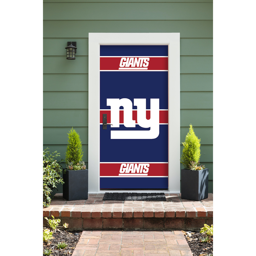 New York Giants Front Door Cover