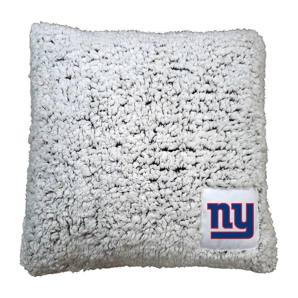 New York Giants Frosty Throw Pillow