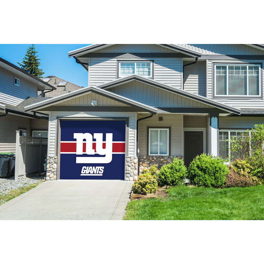 New York Giants SINGLE Garage Door Cover