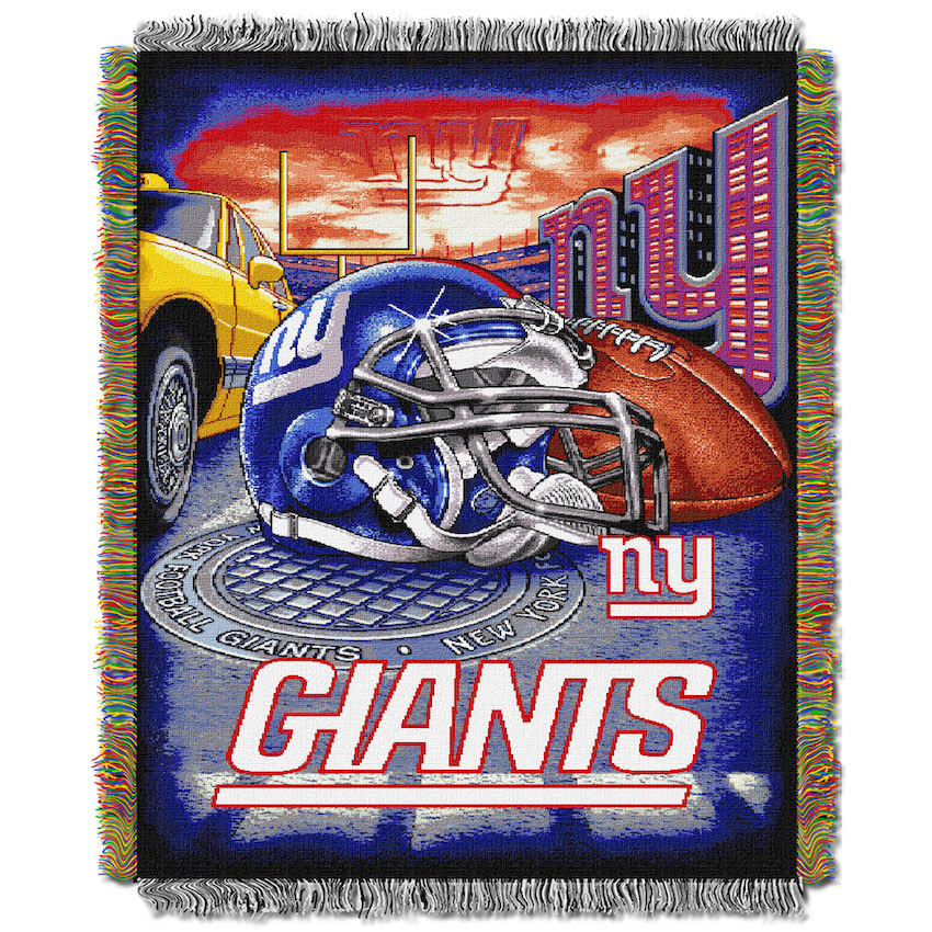 New York Giants Home Field Advantage Series Tapestry Blanket 48 x 60