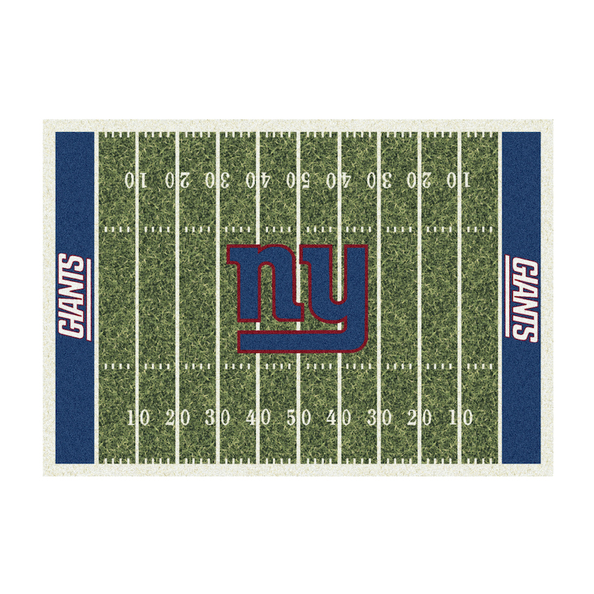 New York Giants 4 X 6 HOMEFIELD Rug