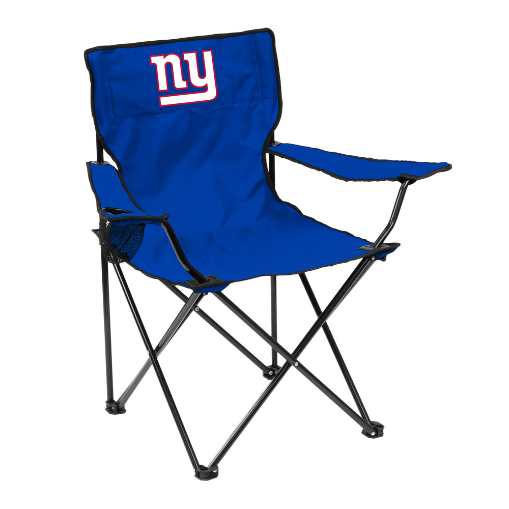 New York Giants QUAD style logo folding camp chair