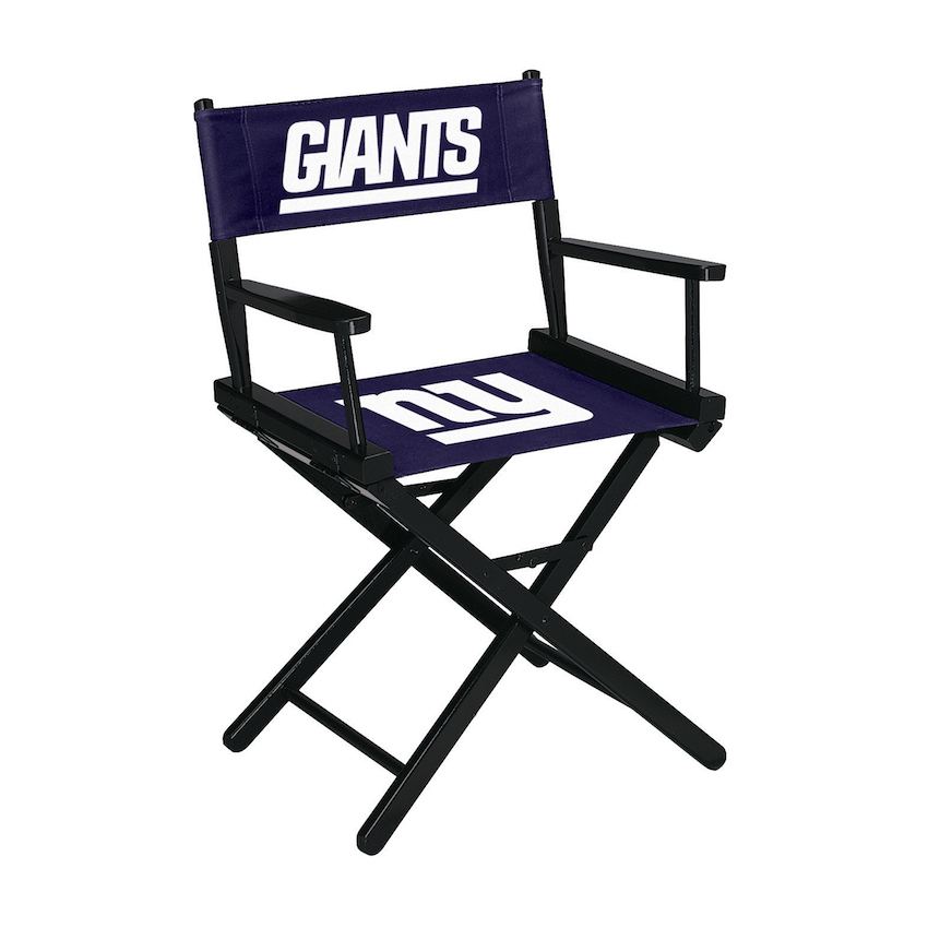 New York Giants Directors Chair TABLE Height