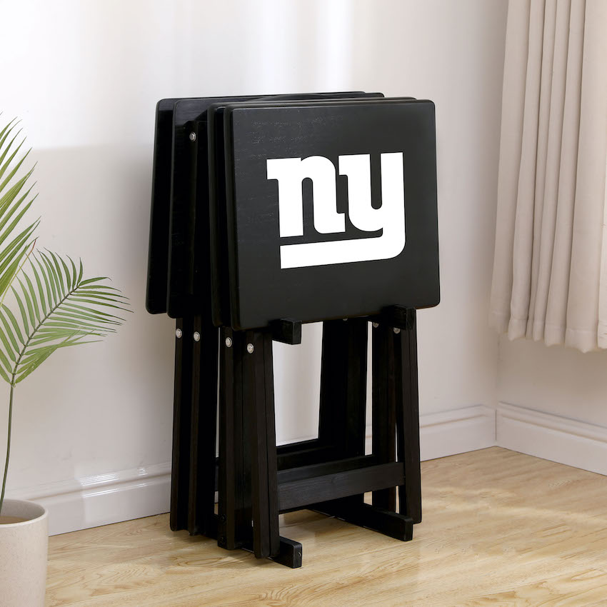New York Giants TV Snack Tray Set