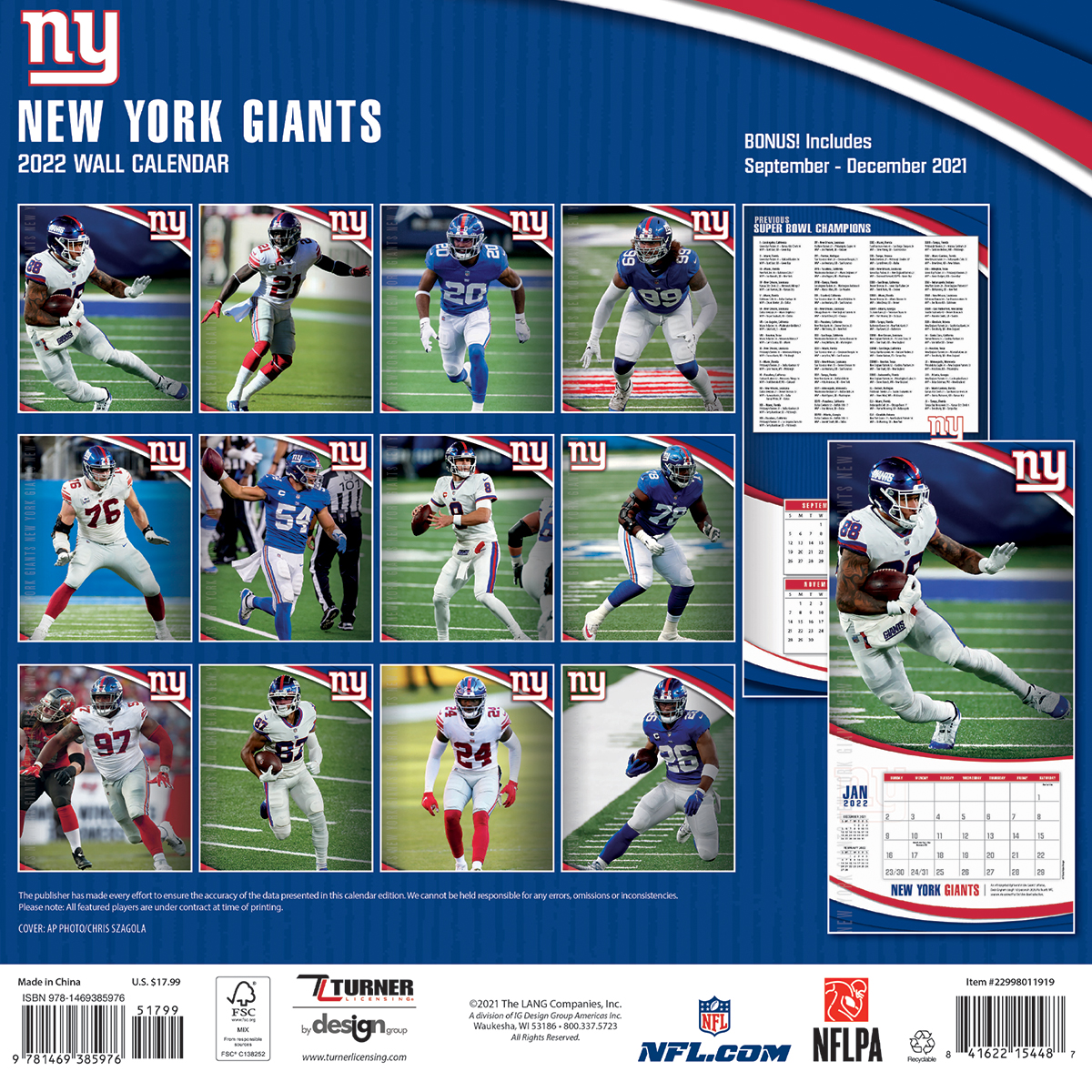 New York Giants Home Record