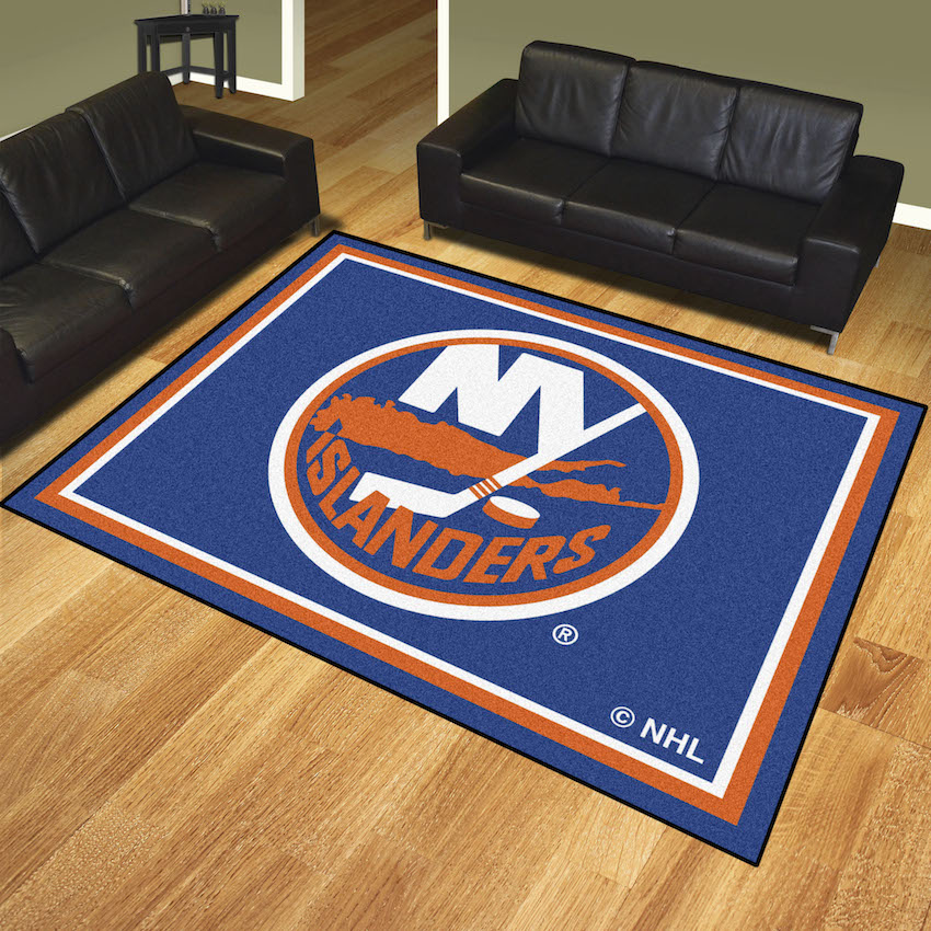 New York Islanders Ultra Plush 8x10 Area Rug