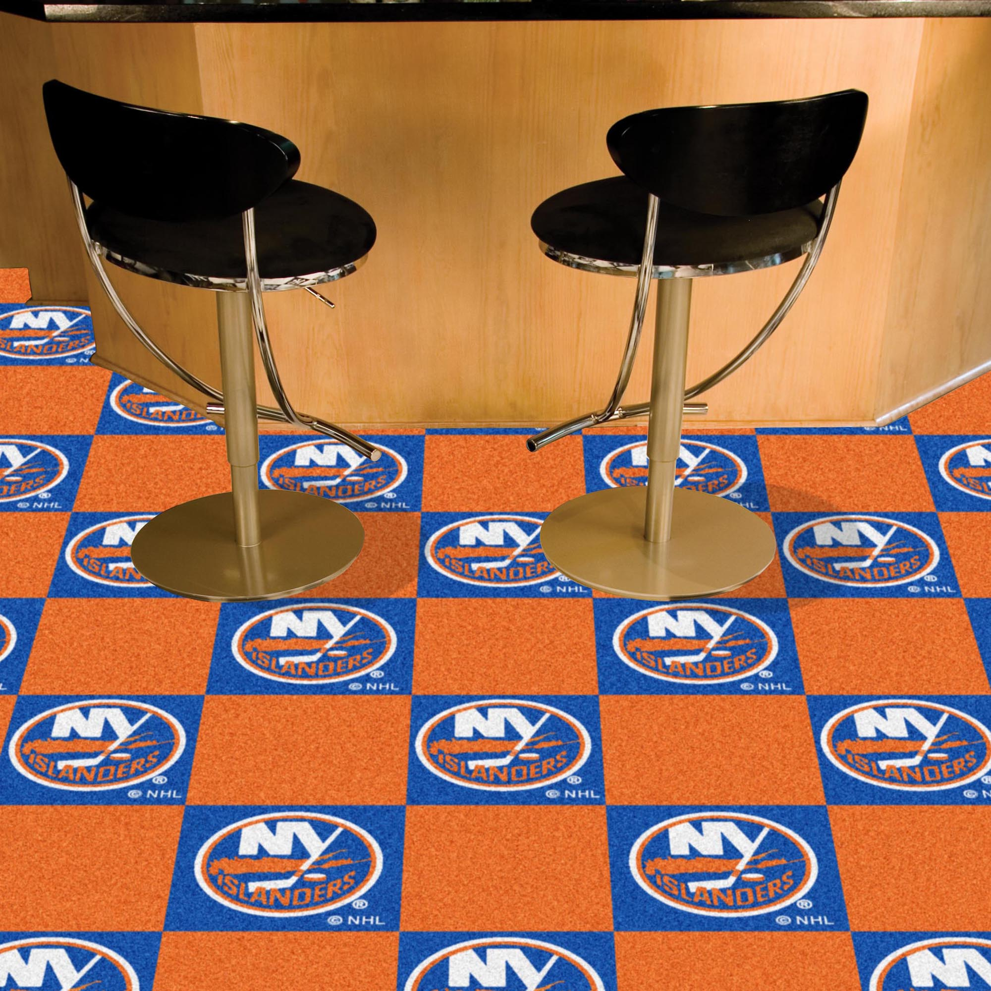 New York Islanders Carpet Tiles 18x18 in.