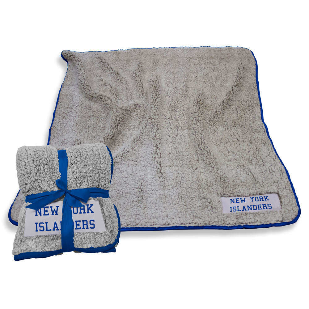 New York Islanders Frosty Throw Blanket