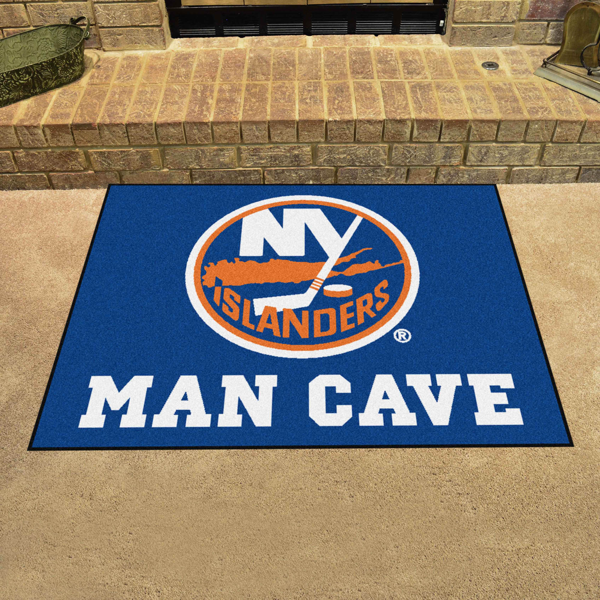 New York Islanders ALL STAR 34 x 45 MAN CAVE Floor Mat