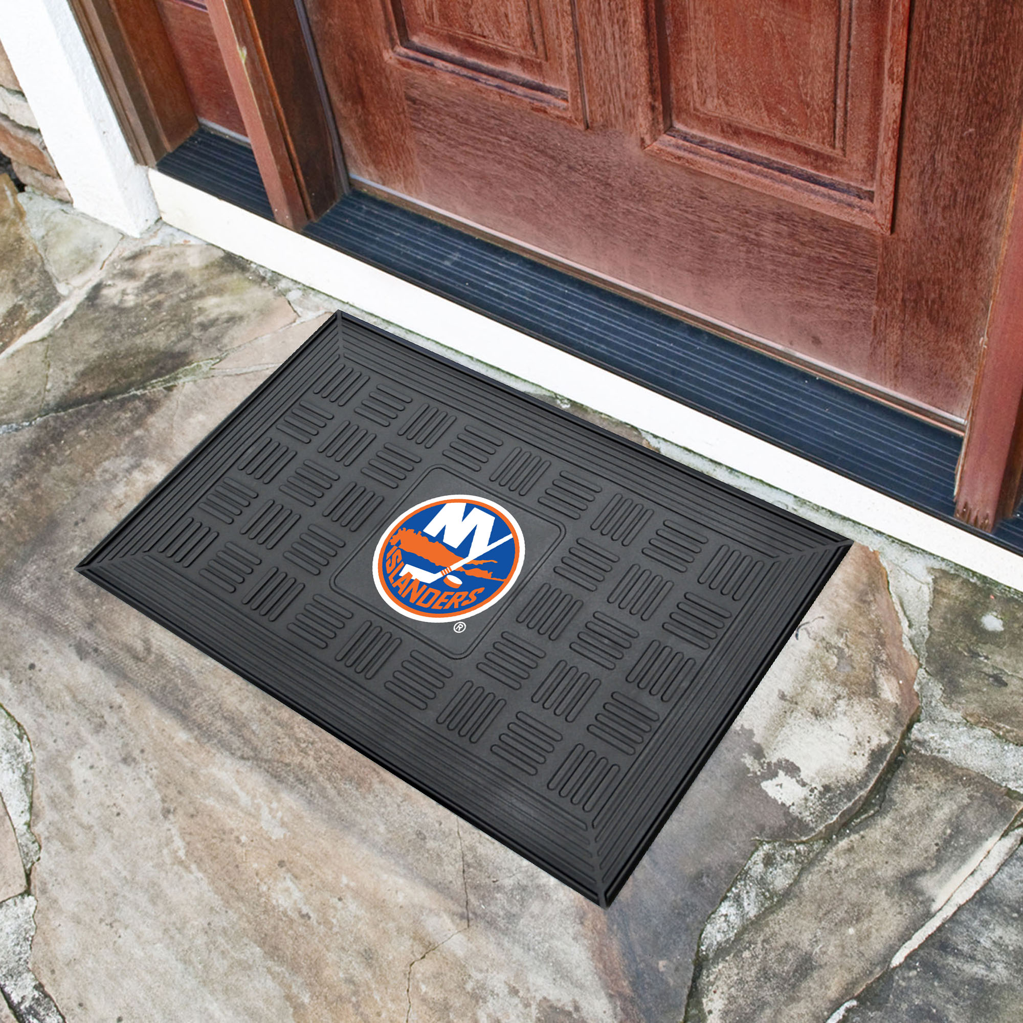 New York Islanders MEDALLION Vinyl Door Mat