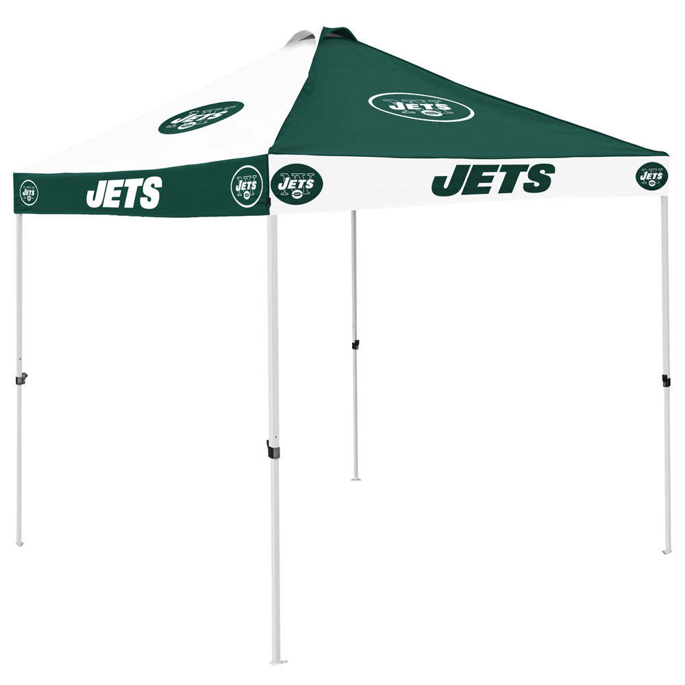 New York Jets Checkerboard Tailgate Canopy