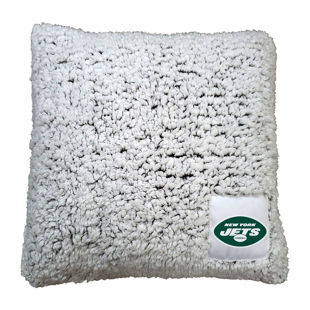 New York Jets Frosty Throw Pillow