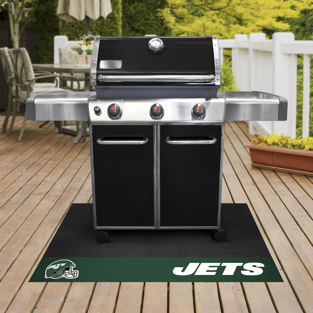 New York Jets NFL Grill Mat