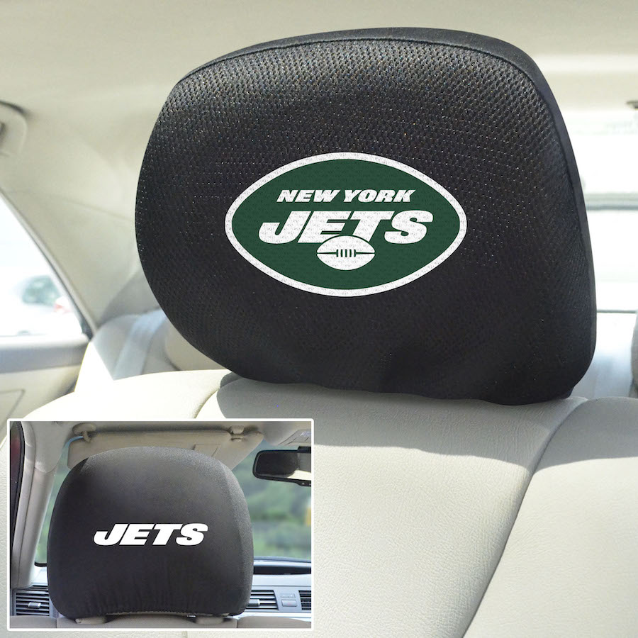 New York Jets Head Rest Covers