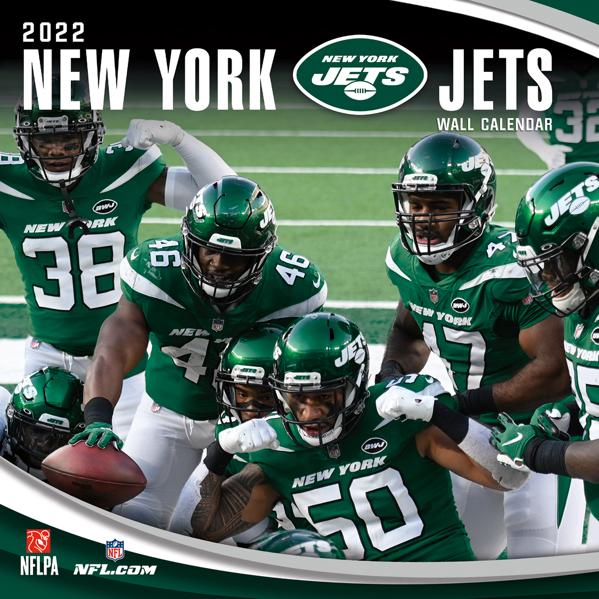 New York Jets 2020 NFL Team Wall Calendar