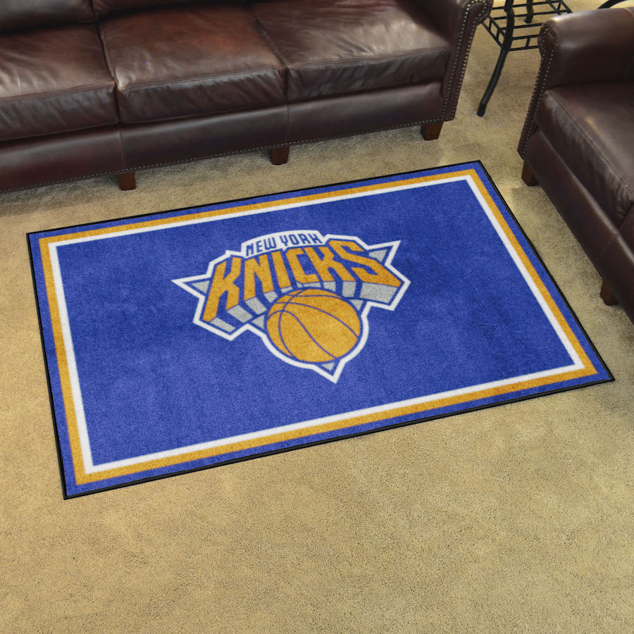 New York Knicks 4x6 Area Rug